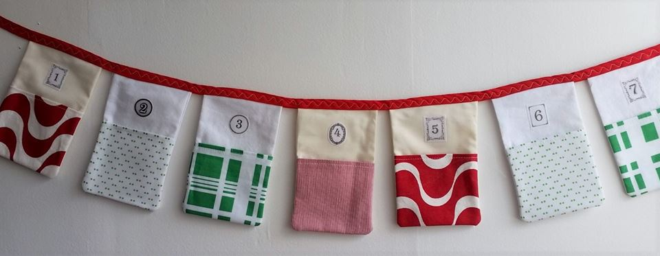 Advent pocket bunting from Funfair | What we're doing this Advent - lots of ideas to steal!| Sacraparental