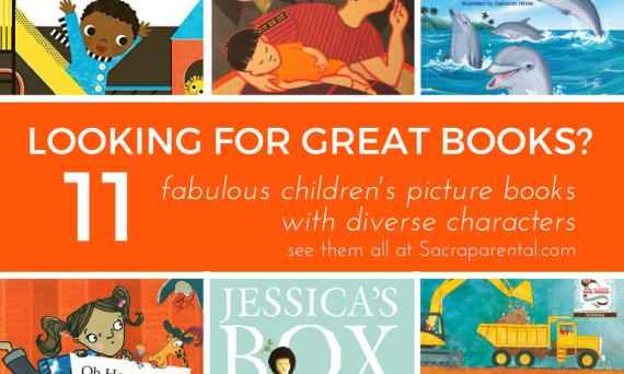 Fabulous Children's Picture Books with Diverse Characters | Sacraparental.com