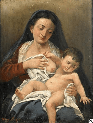 Breastfeeding is a sacred task | Sacraparental.com