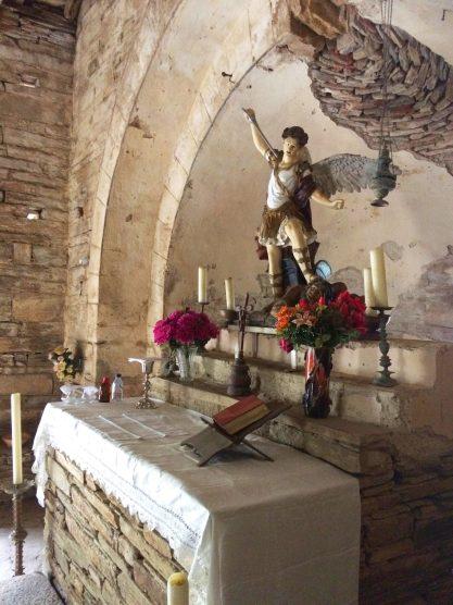 Sacré Cap Corse - Autel à Saint-Michel de Sisco