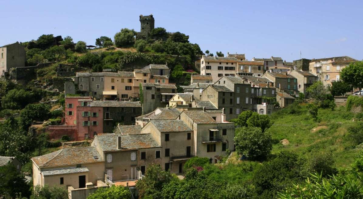 Sacré Cap Corse - Village de Nonza