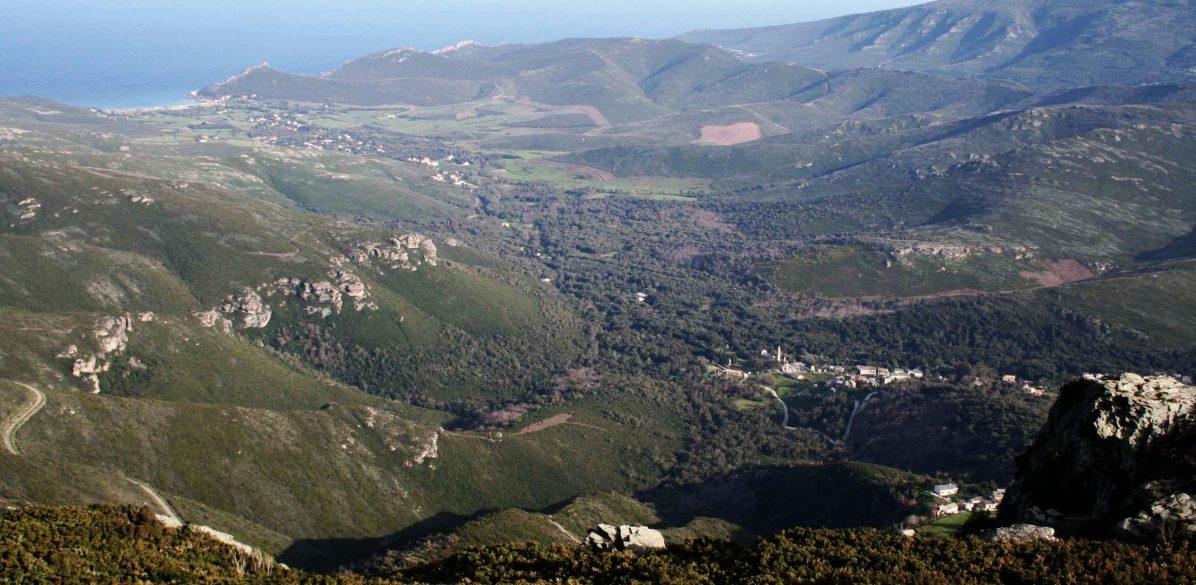Sacré Cap Corse - Vue de la vallée depuis I Termini