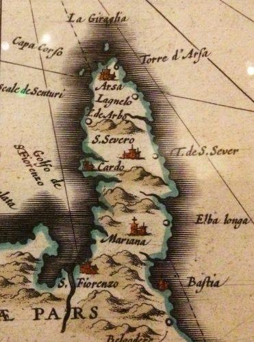 1630-Carte de Johannes Janssonius à Amsterdam