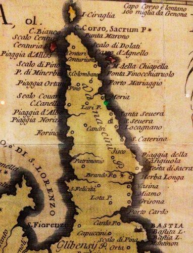 1692-Carte de Vincenzo Maria Coronelli à Venise
