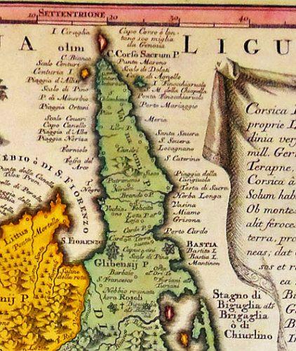 1730-Carte de Matthaus Seutter de Augsburg.