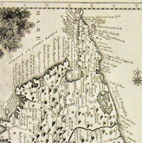 1740-Carte imprimée à Venise