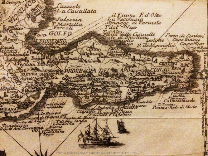 1771-Carte de Gaspero Pecchioni imprimée à Amsterdam
