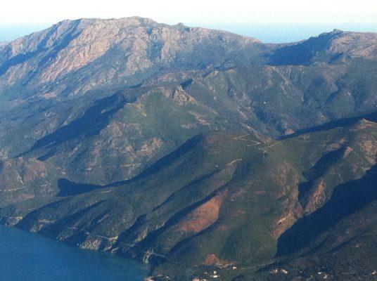 30 novembre 2016 Versant ouest du Cap à la hauteur d'Ogliastro et Olcani