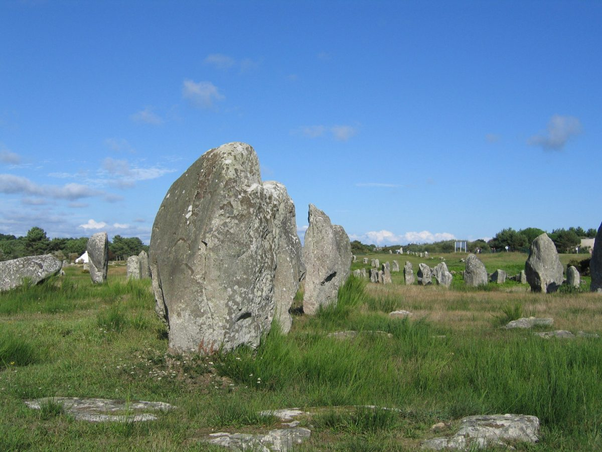 Le Menec: Start of Carnac's Alignments