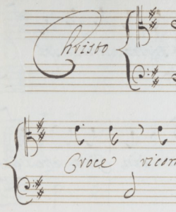 The Victim of Love manuscript