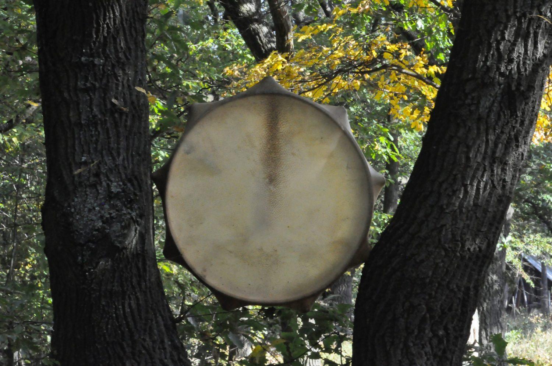 Wild boar shaman drum