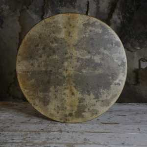 18' goat hide shamanic drum
