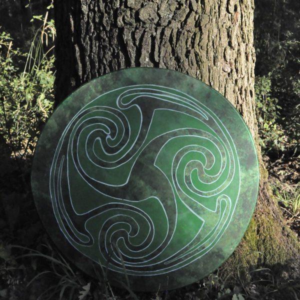 Celtic shaman drum