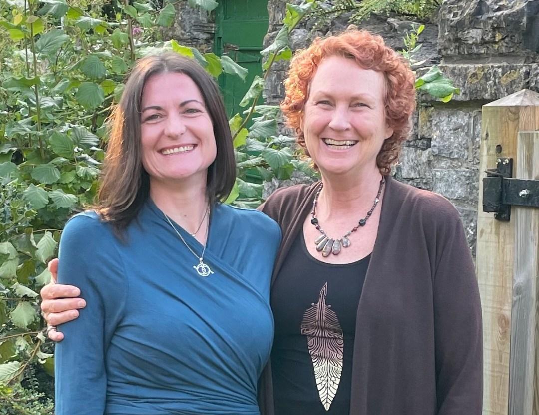 Lalena & Amrita, facilitators