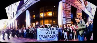 Elsipogtog solidarity demonstrations in Pittsburgh