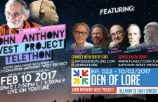 FEB 10th! John Anthony West Project Telethon w/ Graham Hancock, Randall Carlson, Robert Schoch, Laird Scranton, Edward Nightingale, and MORE!