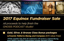 Massive SGI Equinox Fundraiser Sale!  Please Help Us Finish the Gnosis Podcast Studio!