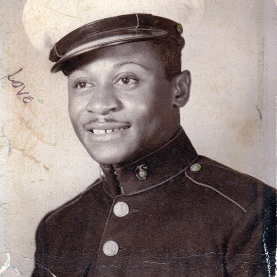 The Descendants Corner: John R. Johnson, Jr. Montford Point Marine