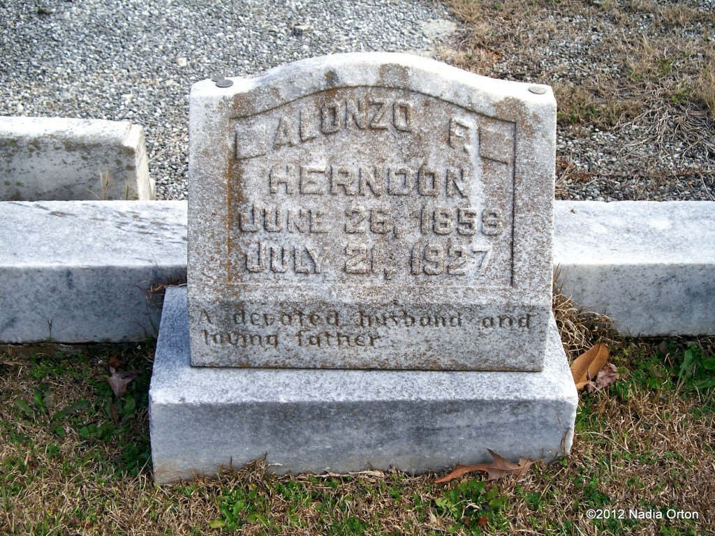 Alonzo F. Herndon Gravestone South-View Cemetery Atlanta