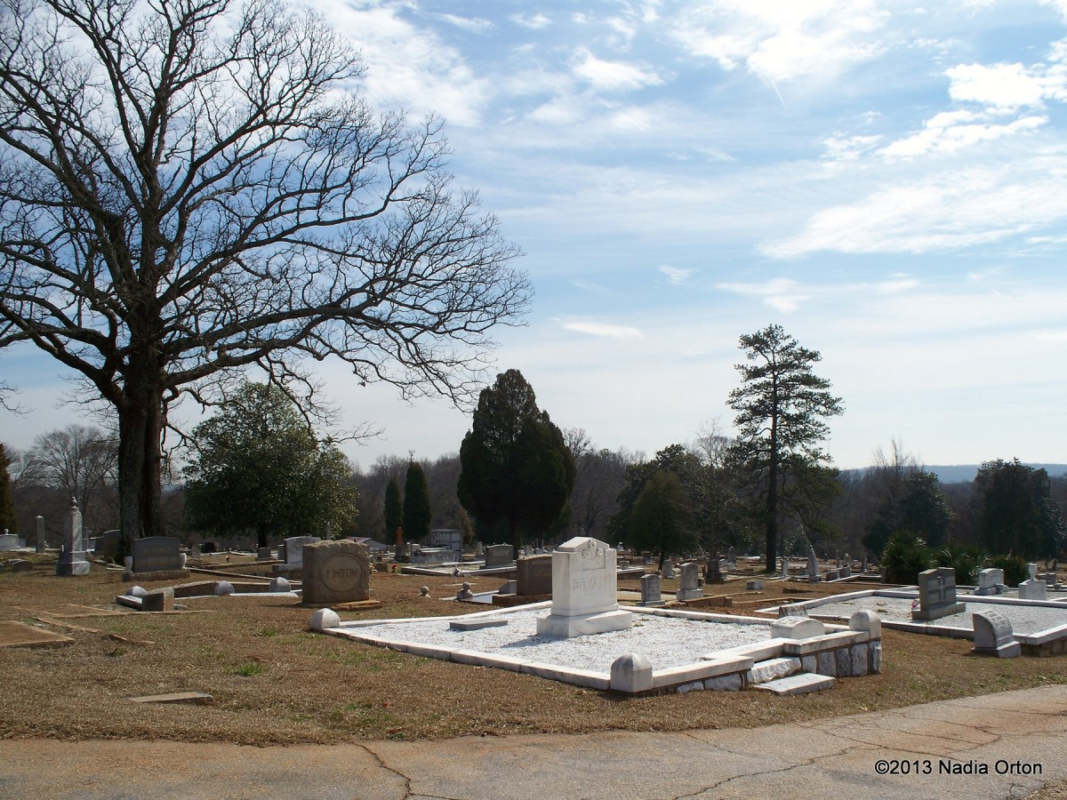 Atlanta, Georgia: South-View Cemetery