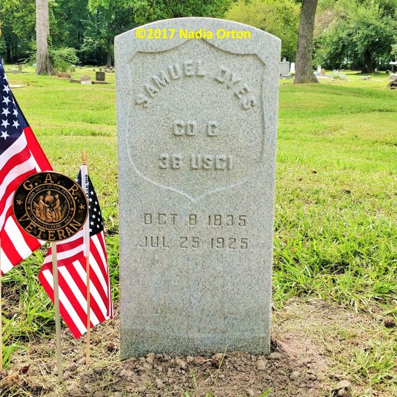 In Their Own Words: Pvt. Samuel Dyes, 36th U. S. Colored Infantry, Portsmouth, Virginia