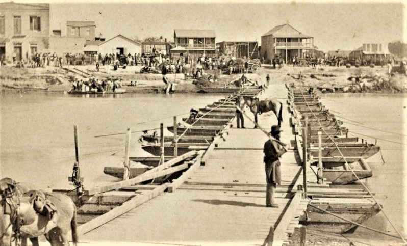 This image has an empty alt attribute; its file name is Brownsville-TX-Bridge-1866-LOC.jpg
