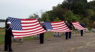 Military Honors at Green Burial