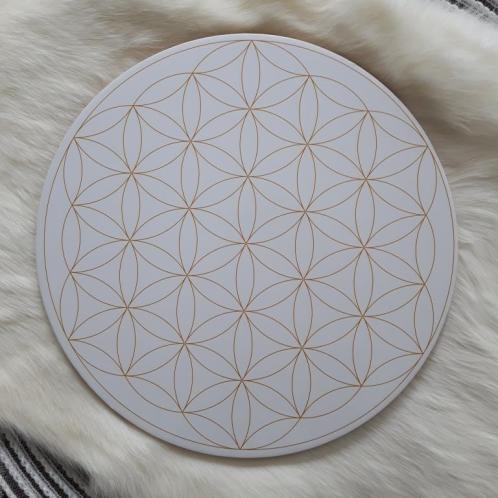 Soul Star Flower of Life Crystal Grid