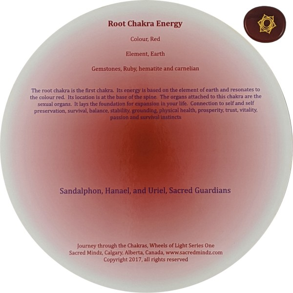 Red Root Chakra Back