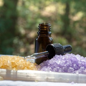 Healing Selenite Bath Salts Lavender Frankincense Patchouli