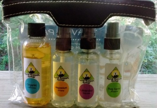 Natural Organic Compliant Travel Size Pack