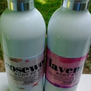 Natural body powder Talc Free foot powder dusting powder