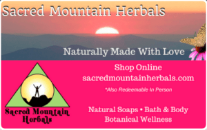 Sacred Mountain Herbals NC Gift Cards