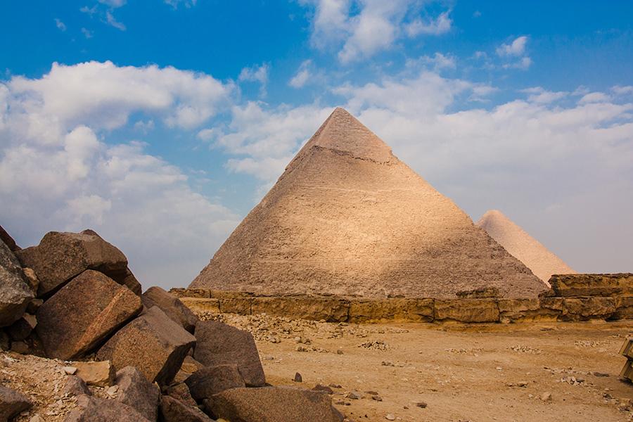 Egypt Sacred Tour: See the Great Pyramid at Giza Plateau