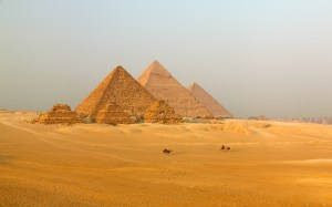 Travel the Sacred Sites of Egypt: The Great Pyramid at Giza