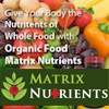 Matrix Nutrients Whole Food Supplements