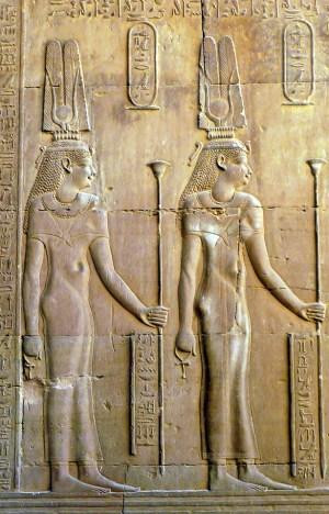 Cleopatra II and III Kom Ombo Temple