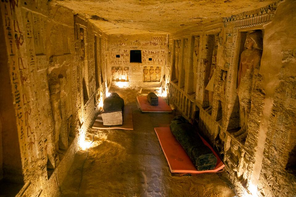 Saqqara Chambers - Tour Sacred Egypt | Sacred Mystical Journeys