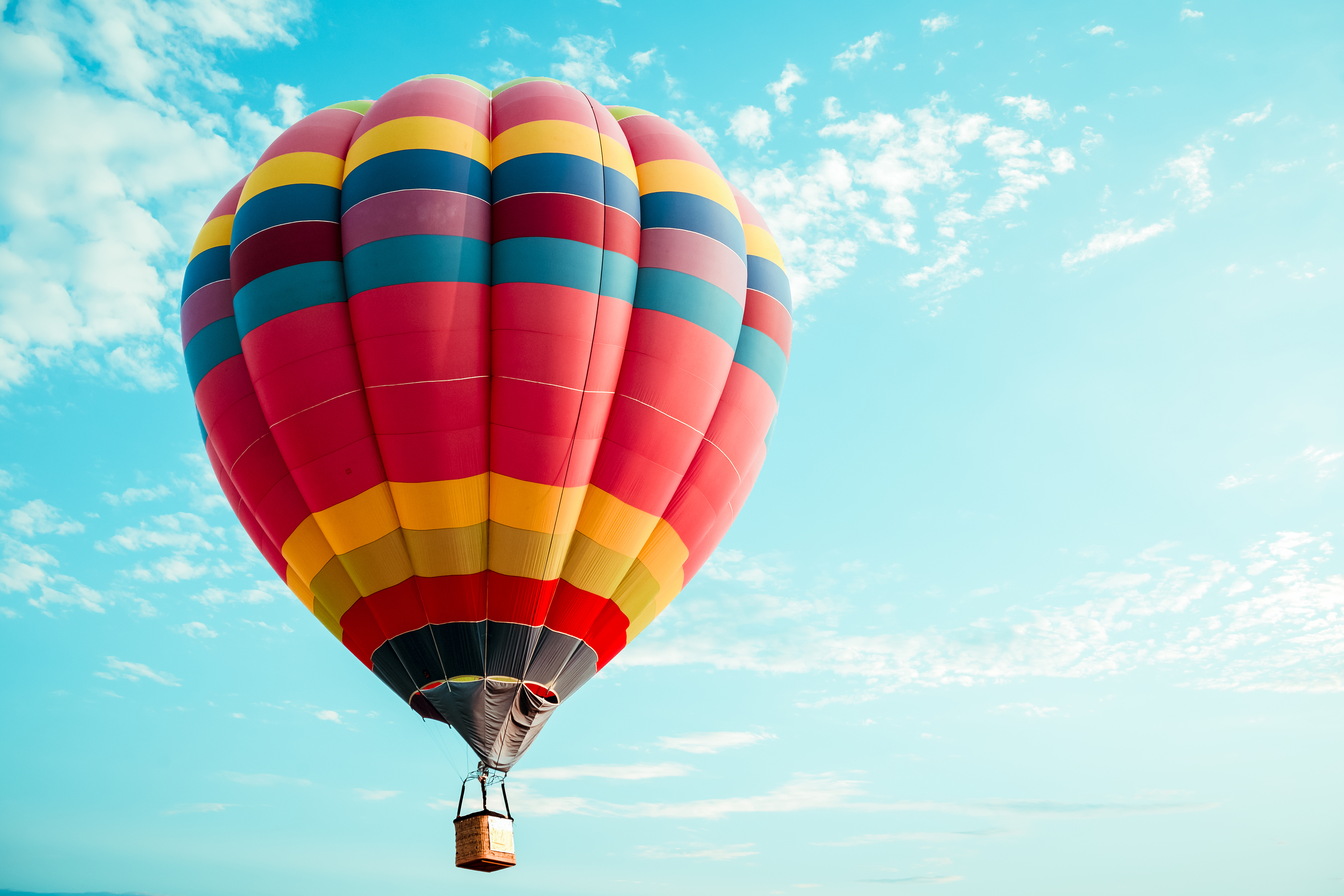 The Many Colors Of Hot Air Balloons