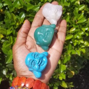Crystal Buddha Head