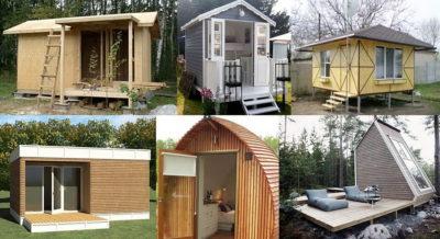 Бюджетный дачный домик своими руками - Сад и огород