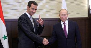 الأسد تلسم الاوامر من بوتين - سبوتنيك