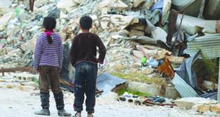 """""""اليرقان"""" يلون عيون الأطفال في سورية الصغيرة"""