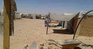 في وسط الصحراء القاحلة