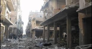 الدمار في مخيم اليرموك - انترنت