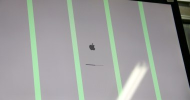 iMac mit Grafikfehler - grüne Streifen auf dem Bildschirm