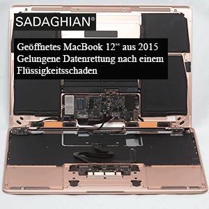 MacBook 12″ 2015 Wasserschaden – Datenrettung