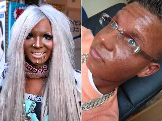 Fake Tan Gone Wrong