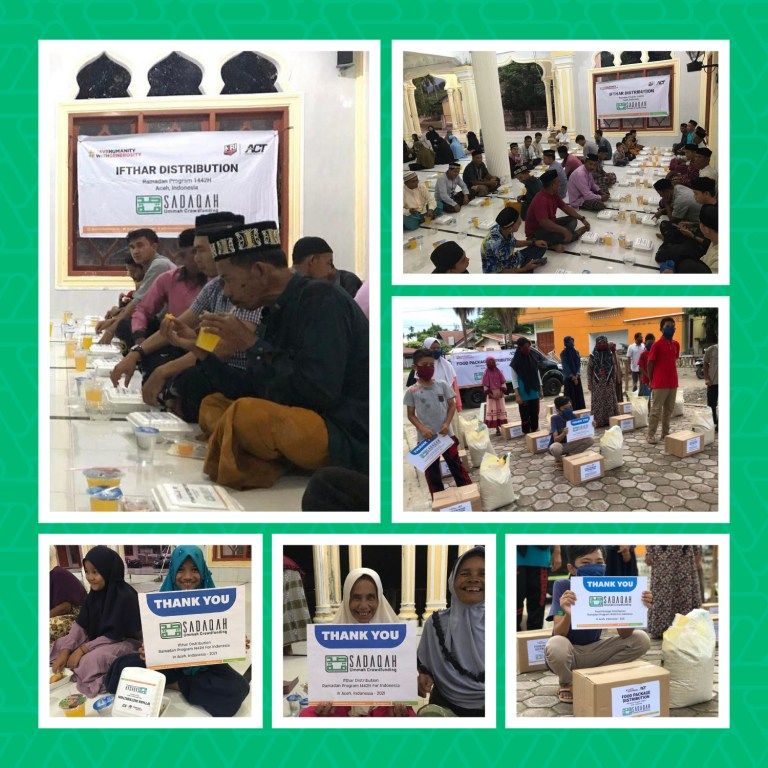 Ramadan Gifts for Vulnerable Families in Indonesia - Sadaqah Campaign Updates