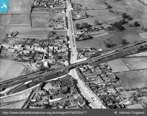 Shefford showing the Railway Bridge